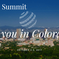 2017-10-02 Global Data Summit in Colordo